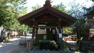 意富比神社(船橋大神宮)手水舎