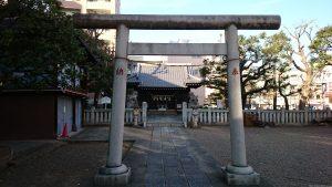 竹塚神社 二の鳥居