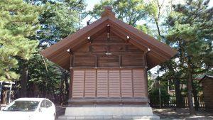 意富比神社(船橋大神宮)神楽殿