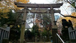 西久保八幡神社 二の鳥居