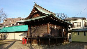 島根鷲神社 神楽殿