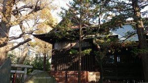 島根鷲神社 本殿