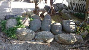 花畑大鷲神社 力石