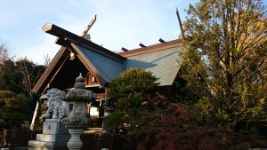 島根鷲神社 拝殿
