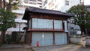竹塚神社 神楽殿
