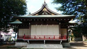用賀神社 神楽殿