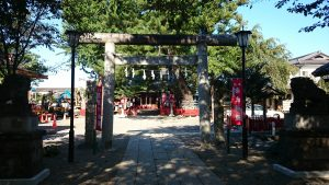 鴻神社 二の鳥居