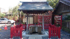鴻神社 手水舎
