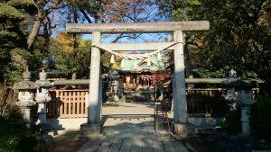 花畑大鷲神社 三の鳥居