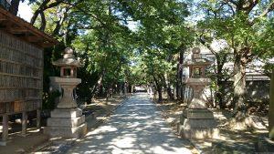 意富比神社(船橋大神宮)参道