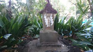 花畑大鷲神社 社殿左手後方石祠
