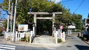 意富比神社(船橋大神宮)一の鳥居