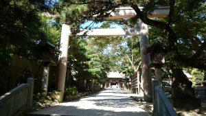 意富比神社(船橋大神宮)二の鳥居