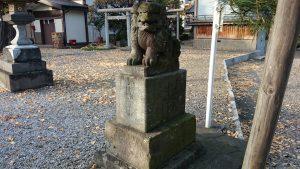 六月八幡神社 狛犬 (2)