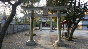 六月八幡神社 二の鳥居