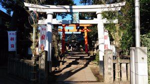天沼八幡神社 一の鳥居