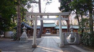 荻窪八幡神社 三の鳥居・祓門