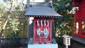 天沼八幡神社 稲荷神社 (2)