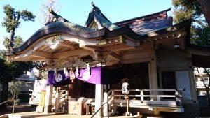 天沼八幡神社 拝殿