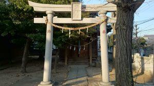 栗原氷川神社 吾妻神社 (1)