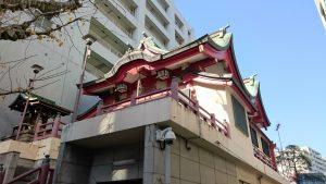 誕生八幡神社 社殿