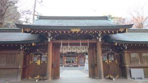 荻窪八幡神社 神門