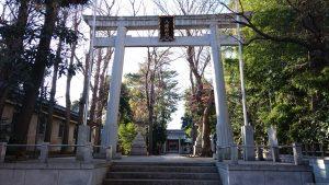 荻窪八幡神社 大鳥居
