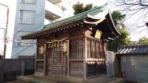 袖ヶ崎神社 拝殿