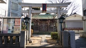 袖ヶ崎神社 鳥居