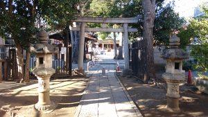 荻窪白山神社 二の鳥居