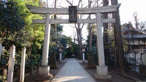 荻窪八幡神社 北側鳥居