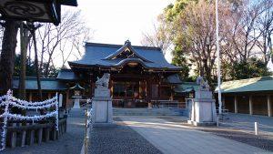 荻窪八幡神社 社殿