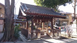荻窪白山神社 手水舎