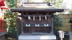 天沼八幡神社  境内末社合殿