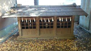 上青木氷川神社 末社殿3
