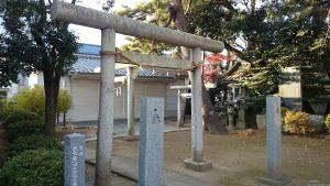栗原氷川神社 稲荷神社 (1)
