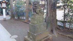 荻窪八幡神社 狛犬 (2)