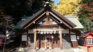 上青木氷川神社