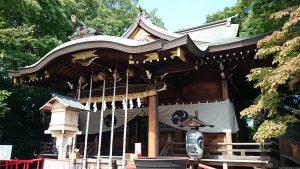 鎮守氷川神社 拝殿
