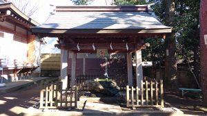 天沼八幡神社 手水舎