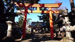 天沼八幡神社 二の鳥居