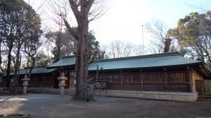 荻窪八幡神社 神門・回廊