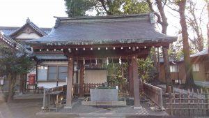 荻窪八幡神社 手水舎