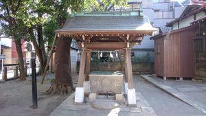 野澤稲荷神社 手水舎