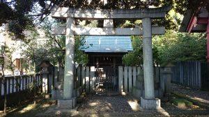 前川神社 祖霊社 鳥居