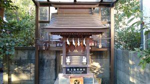 天沼熊野神社 白玉稲荷神社 社殿