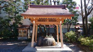 猿江神社 手水舎
