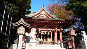 前川神社 拝殿