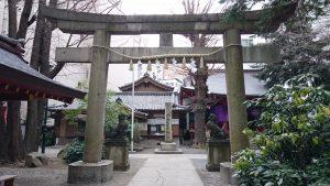 日枝神社日本橋摂社 鳥居