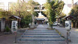 天沼熊野神社 鳥居